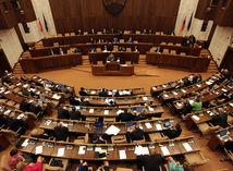 parlament, rokovacia sála