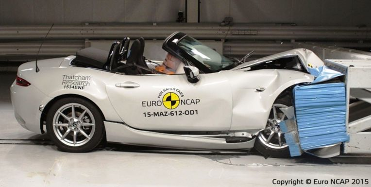 Zlato si v triede roadsterov odniesla Mazda MX-5. To napriek tomu, že ako jediná z ôsmich ocenených modelov získala len štyri hviezdičky. Také BMW Z4 má ale napríklad iba 3.