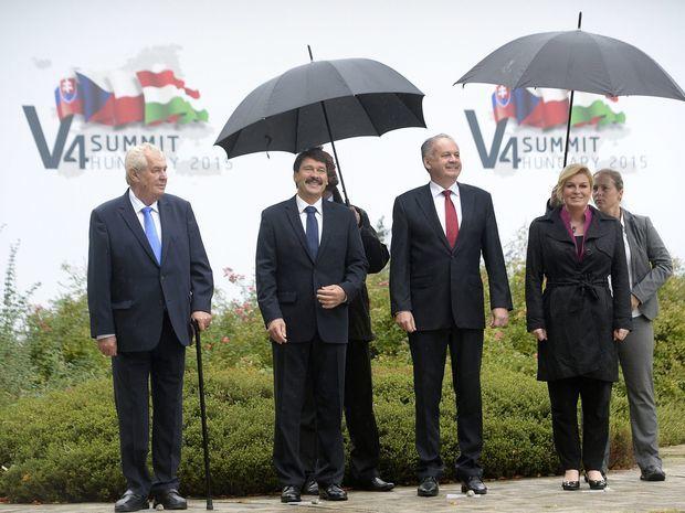 V4, Zeman, Kiska,