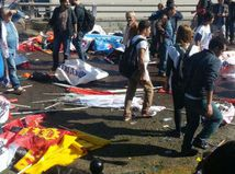 ankara, turecko, výbuchy, mierový pochod,