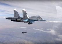 stíhačka, bombardovanie, rusko, sýria,