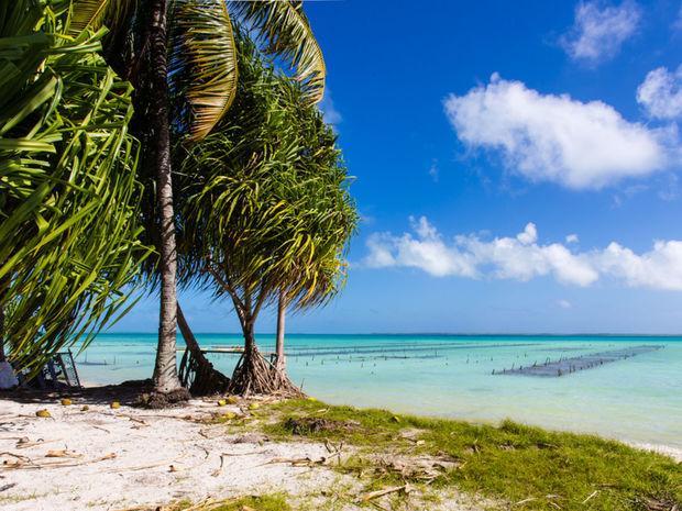 Kiribati, ostrov