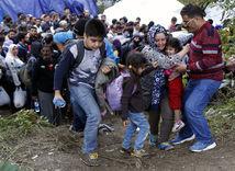 utečenci, migranti, utečenecká kríza, srbsko, chorvátsko,