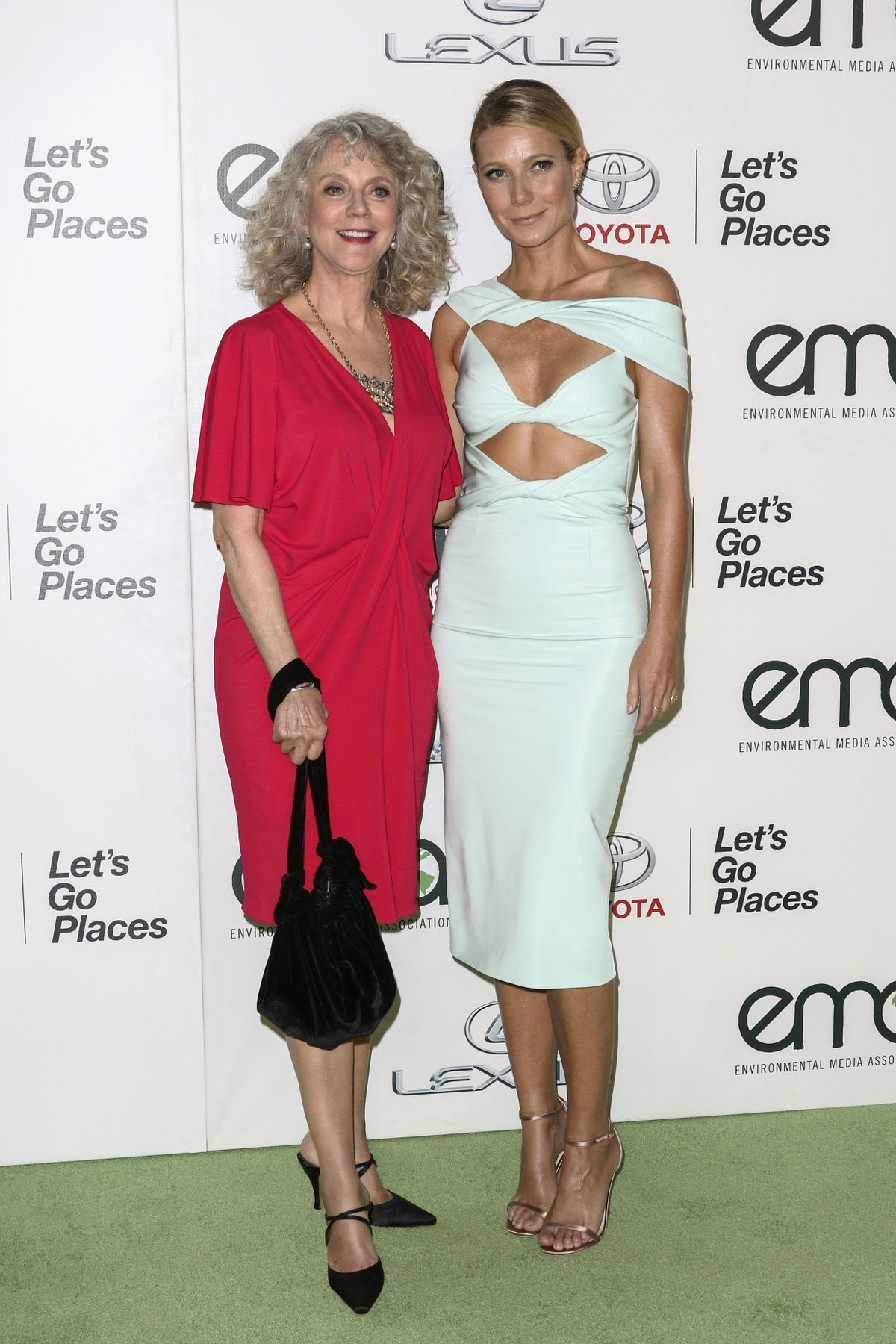 Herečka Gwyneth Paltrow a jej mama Blythe Danner.