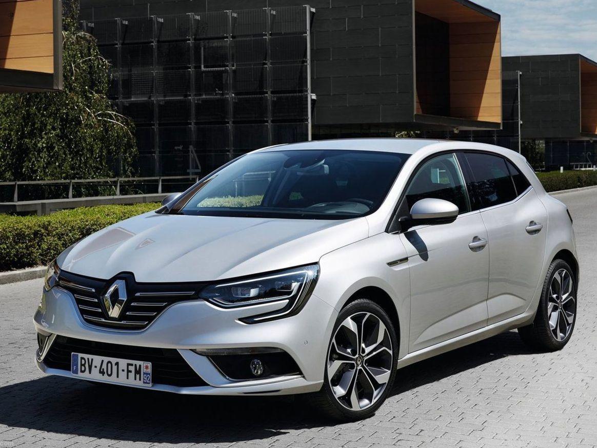 Štvrtá generácia Renaultu Mégane.