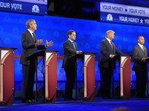 USA, debata, republikáni, primárky