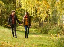 láska, vzťah, prechádzka