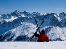Savognin, lyžovačka, sneh, lyžiar, lyže, zima, hory, Švajčiarsko, Alpy,
