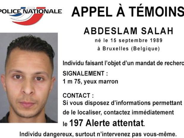 Salah Abdeslam, Francúzsko, terorista, IS