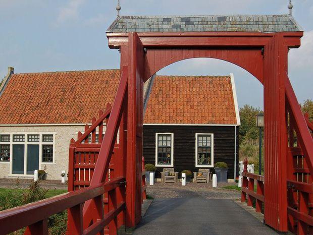 Pevnosť Bourtange v Holandsku, neďaleko mesta Groningen.