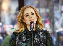 Speváčka Adele počas návštevy v televíznej šou Today.