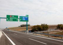 R1, rýchlostná cesta, diaľnica, smerová tabuľa