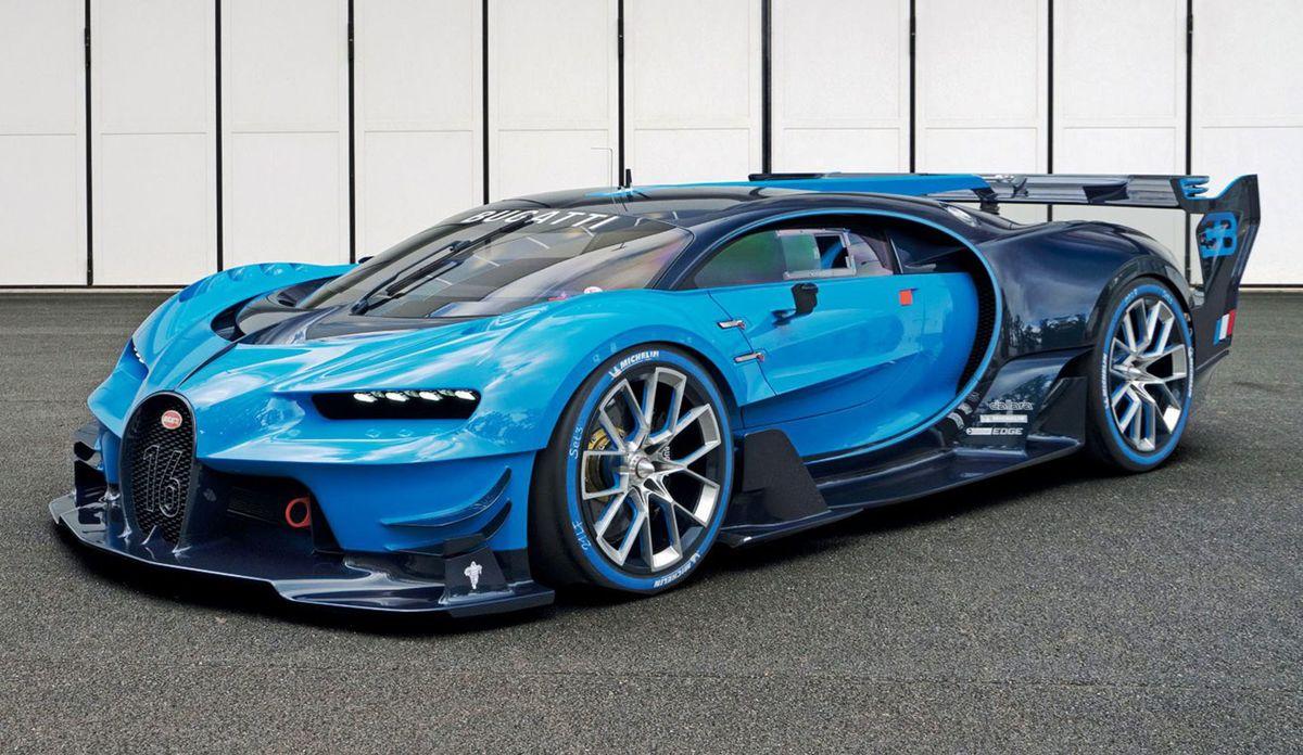 Dizajn Chironu naznačila štúdia Vision GT, teda model v mierke  1 : 1 pre najpopulárnejšiu počítačovú hru Gran Turismo. Čo bude mať spoločné so sériovým Chironom, sa dozvieme už v Ženeve.