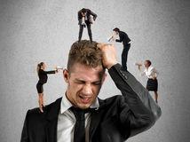 stres, depresi,a strach, úzkosť, napätie, práca
