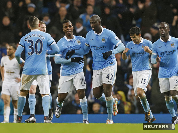 Manchester City, radosť