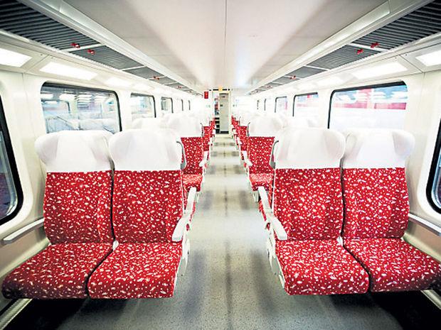 vlak, vagón, železnice, IC