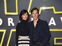 Benedict Cumberbatch a jeho manželka Sophie Hunter