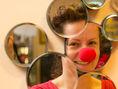 Klaunka, Marika Kecskesová, Červené nosy,  združenie Červený nos Clowndoctors, nemocnice,