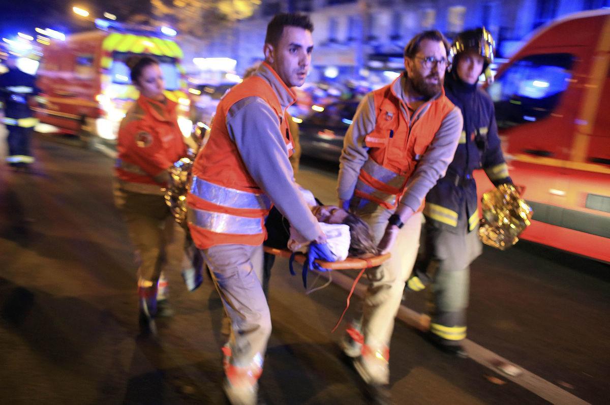 Teroristický útok v Paríži.