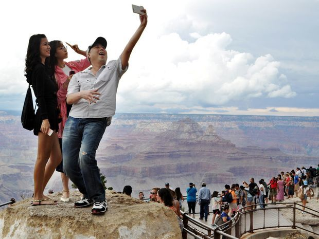Grand Canyon, selfie