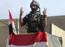 sýria, ramádí, vojak, irak