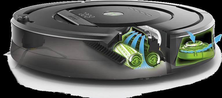 Najvyšší model vysávačov iRobot Roomba má o polovicu vyšší sací výkon v porovnaní s nižšími verziami.