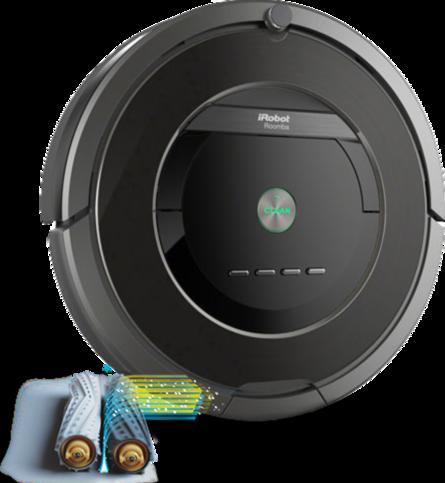 iRobot Roomba má v hornej časti ukrytý displej. Užívateľovi sa prihlási aj hlasový asistent.
