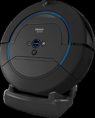K vysávaču iRobot Scooba je možné dokúpiť dokovaciu stanicu na dobíjanie a sušenie.