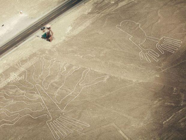 Nazca, Peru, obrazce