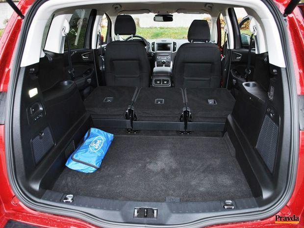 Ak v aute práve nie je plný počet cestujúcich, môže sa dovnútra zmestiť 2 200 litrov batožiny, resp. nákladu.