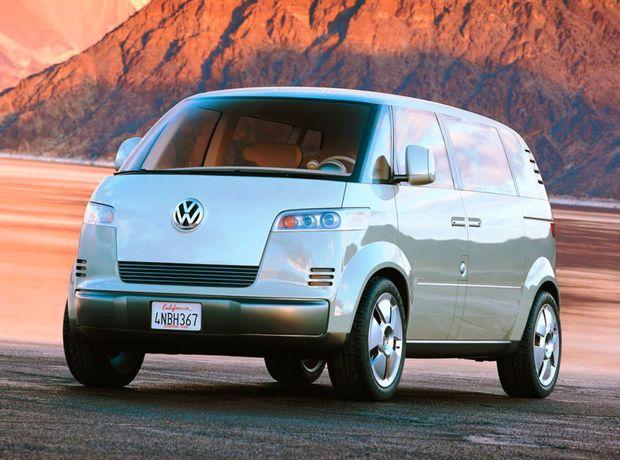 Takto si predstavoval Volkswagen návrat Microbusu už pred pätnástimi rokmi. Štúdia Microbus Concept do výroby nikdy nezamierila.