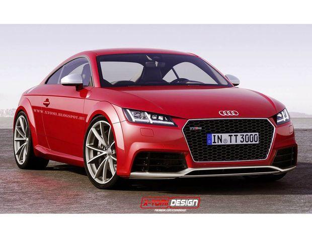 Audi TT RS - 2016 ilustrácia