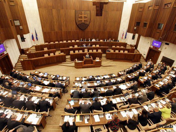 parlament, vláda, NRSR
