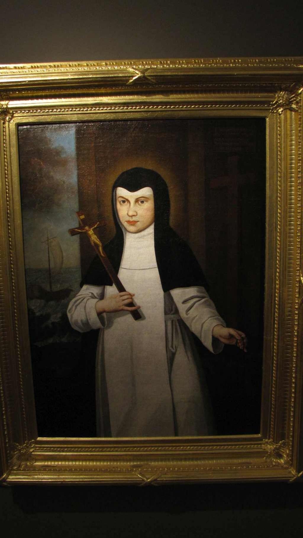 Portrét Osanny Andreasi, ktorú vyhlásili za blahoslavenú.