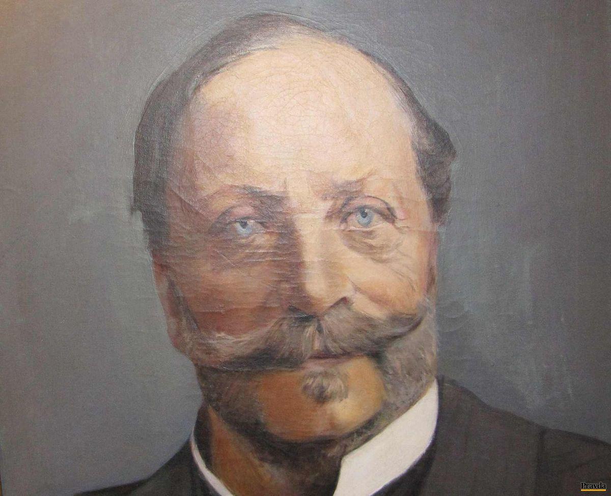 Portrét Emanuela Andrássyho I., ktorý bol vášnivým poľovníkom, cestovateľom aj zberateľom.