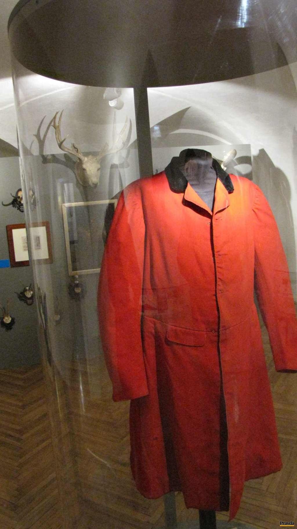 Oblečenie, aké používali Andrássyovci pri poľovačkách.