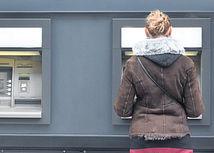 banka, bankomat