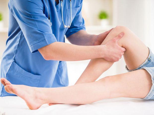 cukrovka, noha, žily, lýtko, koleno, stehno, vyšetrenie, lekár