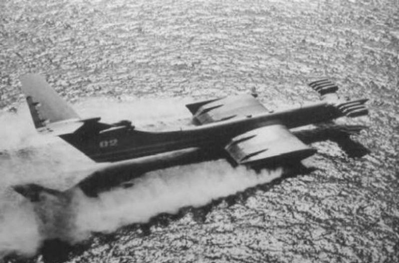 Američania objavili KM počas skúšok v Kaspickom mori pomocou prieskumného letu. Spočiatku nevedeli, o čo vlastne ide.