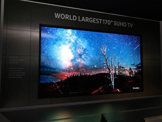 Najväčší televízor, SUHD, Samsung, LED, LCD