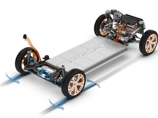 Základom novej elektrickej Škody bude koncernová platforma MEB s batériami v podlahe, ktorá mala premiéru v Las Vegas v koncepte Volkswagen Budd-E.