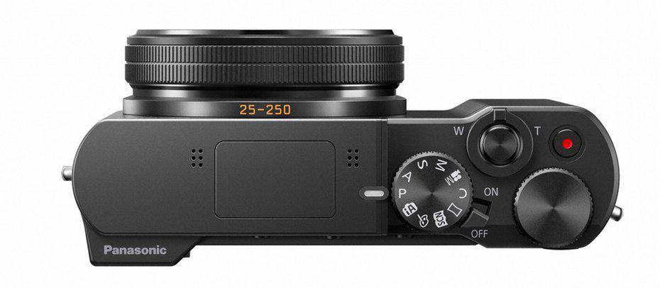 Nový kompakt od Panasonic, model Lumix DSC TZ-100.