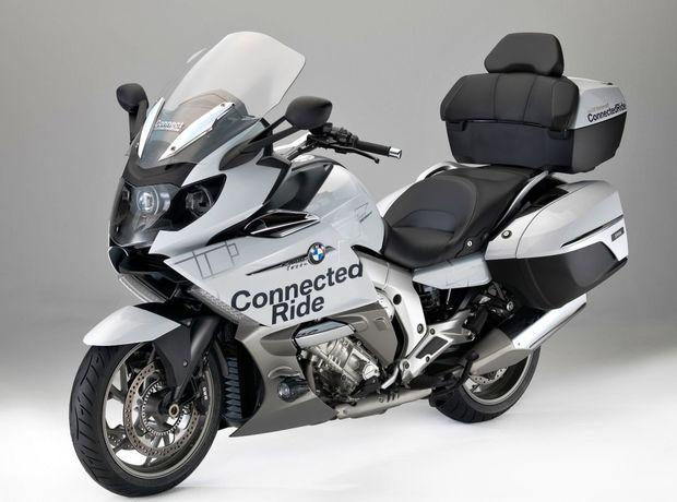 Laserové svetlo zabudovalo BMW Motorrad do luxusného cruisera K 1600 GTL.