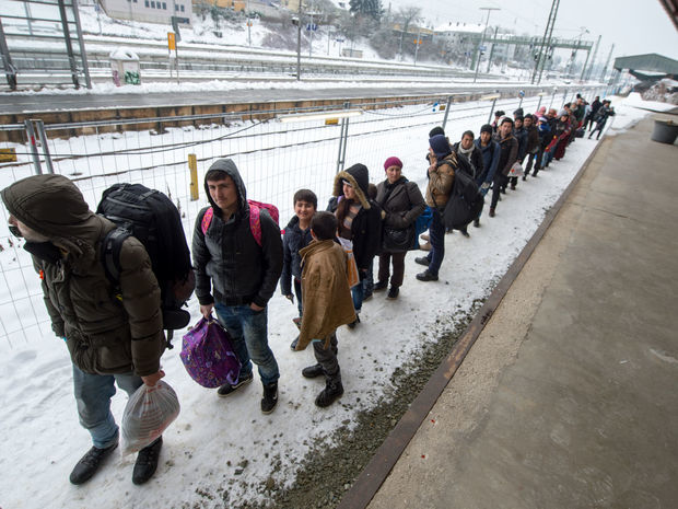 nemecko, utečenci
