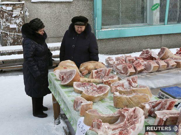 Rusko, ženy, mäso