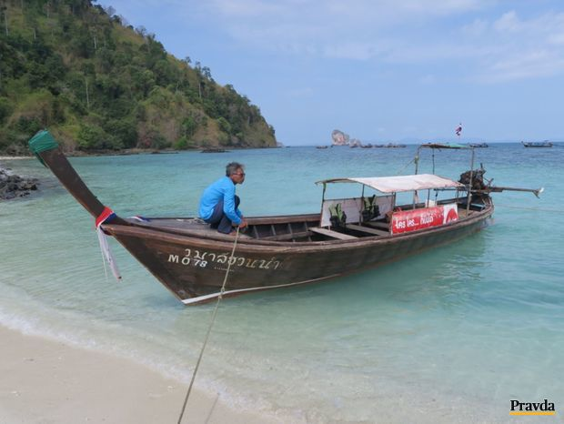 Krabi, ostrov, more, exotika, Thajsko, leto, dovolenka