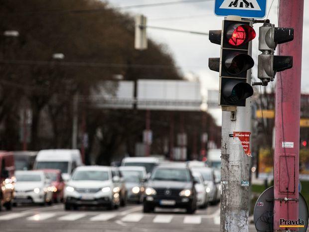 semafor, cesta, premávka