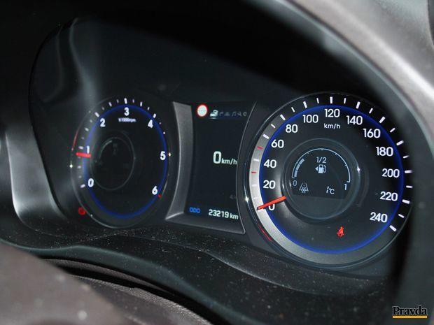 Hyundai vás informuje aj o rýchlostných limitoch, ktoré si prečíta pri ceste.