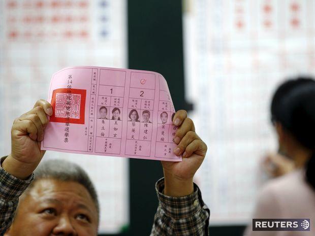 Taiwan, voľby