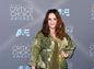 Herečka Melissa McCarthy oblečená do šiat Melissa McCarthy Design.